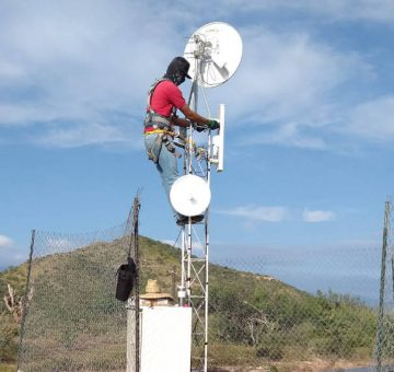 FiberTech Antenna Tower